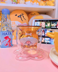 Kawaii Shiba Double Glass Water Cups PN1868