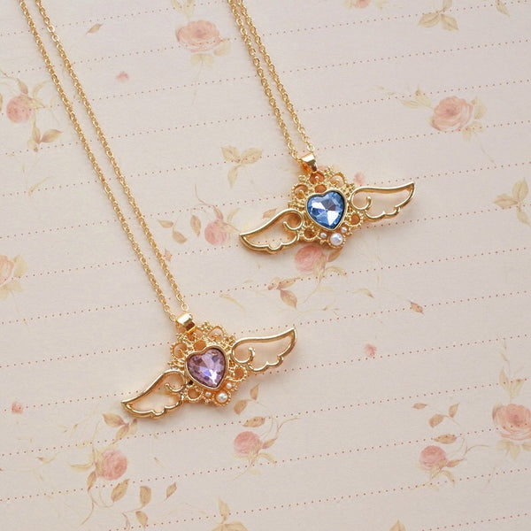 Wings Of Angel Fashion Necklace PN0414