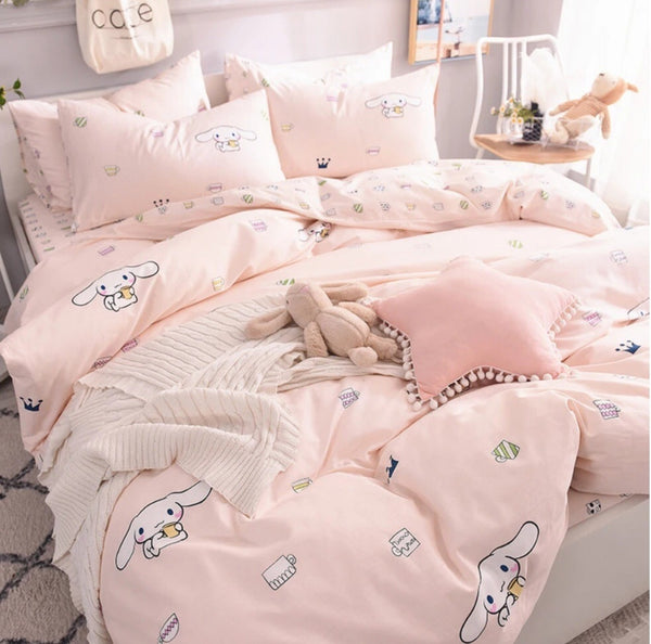 Cute Cinnamoroll Bed sheet,Quiltcover,Pillowcover PN1306