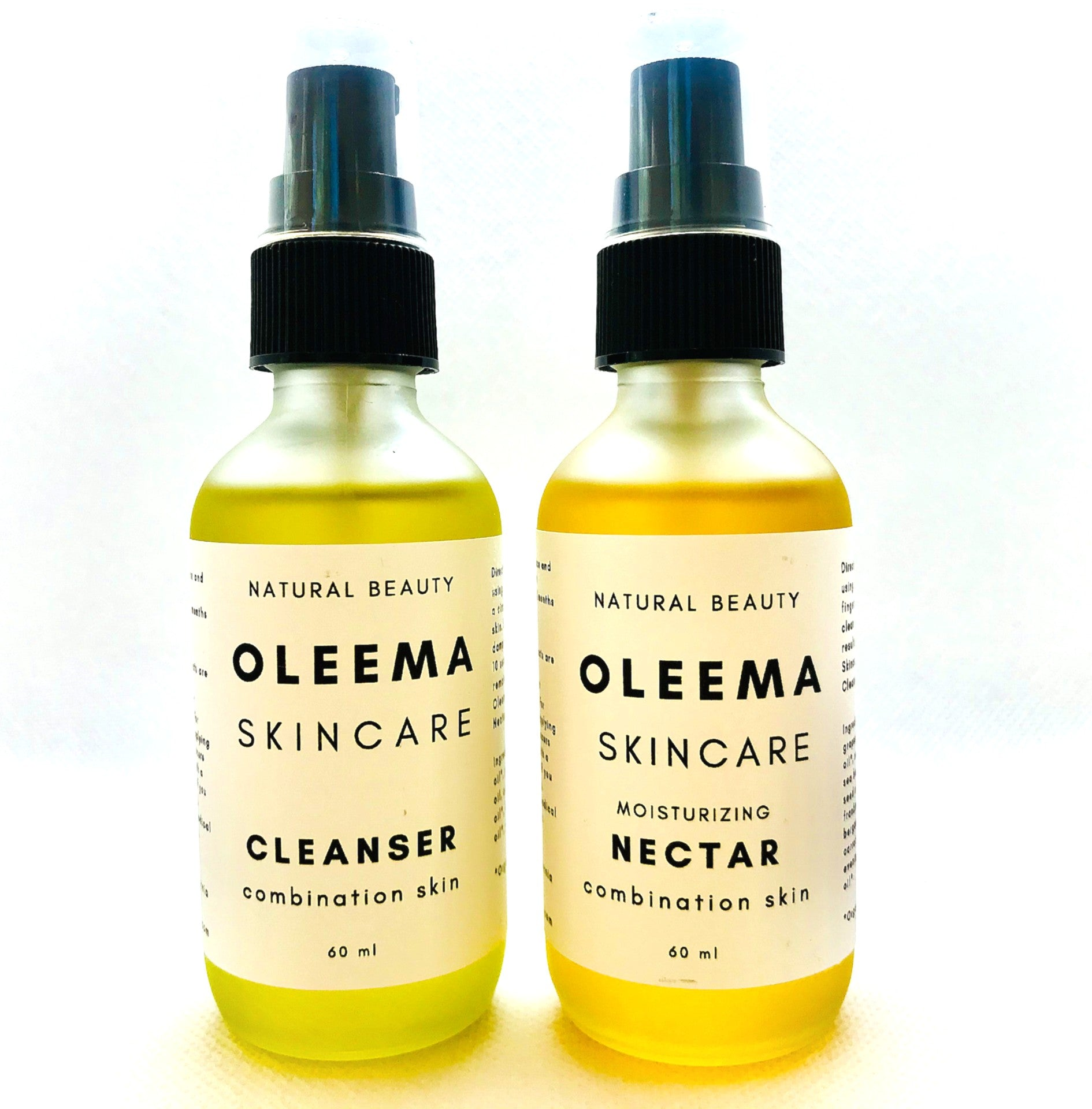 Facial Cleanser & Moisturizing Nectar Set | Combination Skin