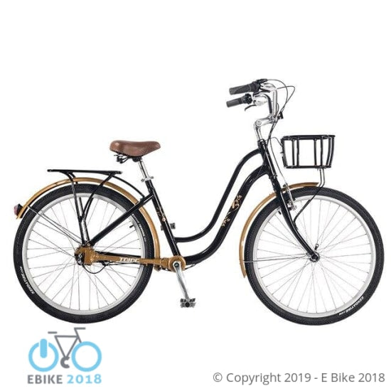 "26"" Retro Style No Chain Ladies Bicycle"