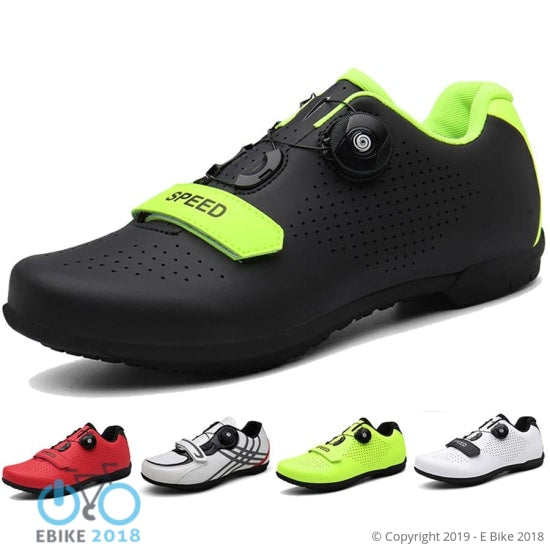 4351696306237 - Self-Locking Lace Cycling Shoes - E Bike 2018