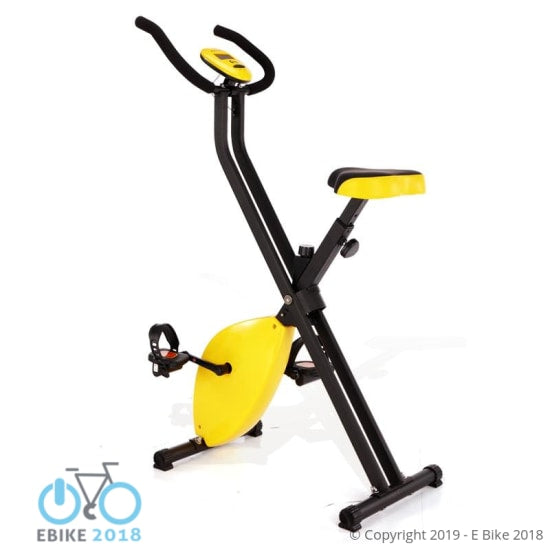 Yellow Low Noise Spinning/Indoor Cycling Bike