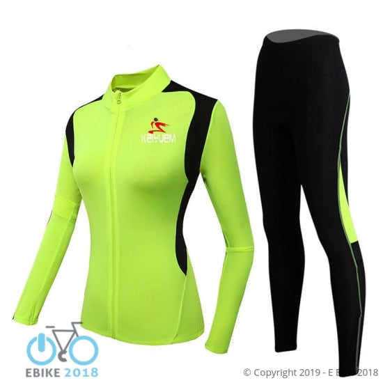 1809167745085 - Women's Bike Clothing Set - E Bike 2018