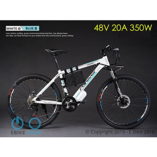 828258189373 - Original X-Front Brand 48V 500W 20A Lithium Battery Mountain Electric Bike 21 Speed Electric Bicycle Downhill Cycling Ebike - E Bike 2018