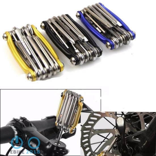 696799821885 - Bicycle Repair Tools For Bike 1Pc 11 In 1 Multi-Function Bike  Wrench Chain Cutter Repair Tools Kit New Accessories Part #Ew - E Bike 2018