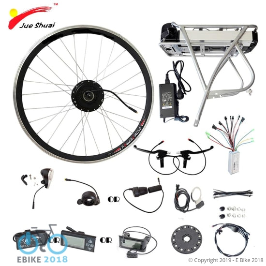 1794139258941 - 250W 350W 500W Electric Bike Wheel Motor 36V 12Ah Battery Display Controller Ebike Electric Bike Bicycle Kit - E Bike 2018