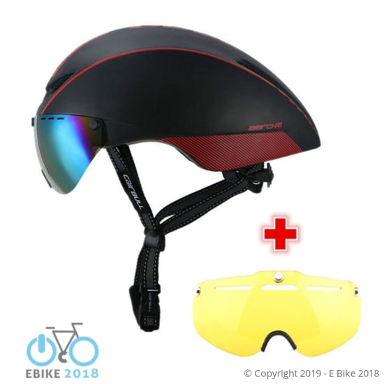 875284234301 - Cairbull 2 Lens Aero-R1 Cycling Helmet Racing Bike Safety #Helmet - E Bike 2018