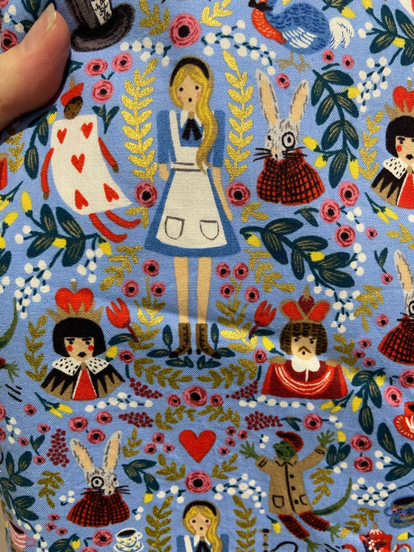 Customer custom order - Alice in Wonderland Allie Higgins
