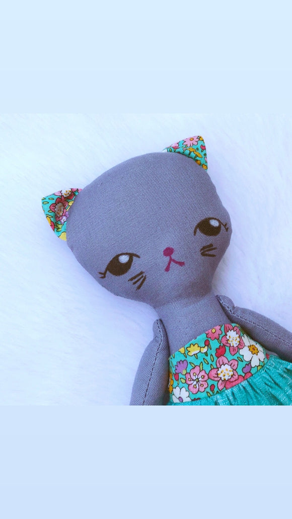 Kitty Cat Art Doll