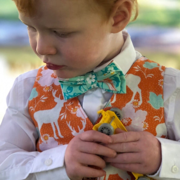 Boys double layer bow ties