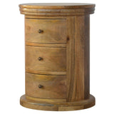 Country Style Petite Slim Drawer Chest with 3 Drawers - Lost Land Interiors