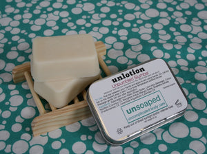 Unbumbled Slumber unlotion solid lotion bars in the large 2 ounce size