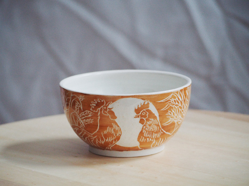 Rooster Morning Bowl