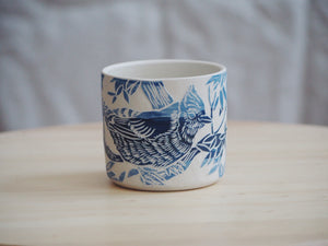 Ombre Blue Jay Mini Planter / Cup