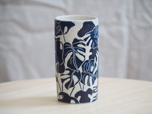 Tropical Girl Mini Vase