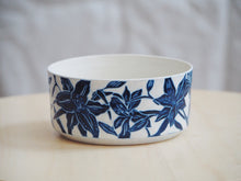 Load image into Gallery viewer, Indigo Lily Bowl I