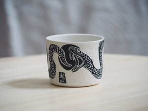 Black Snake Mini Planter / Cup