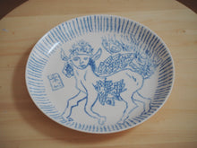 Load image into Gallery viewer, Bestiary Medium Porcelain Plate ⌀21,5cm (Buraq)