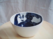 Load image into Gallery viewer, Indigo Naive Nude Bowl
