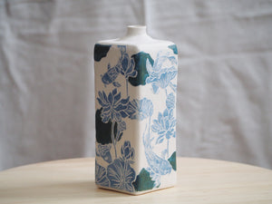 Flora & Fauna Koi & Lotus Bottle