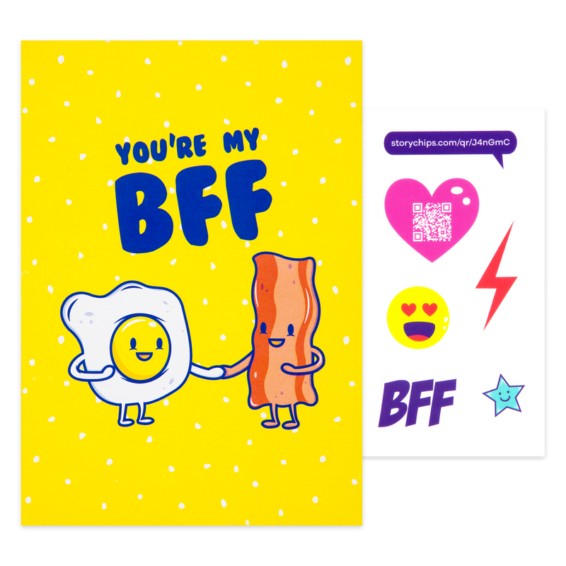 Bacon and Eggs Card
