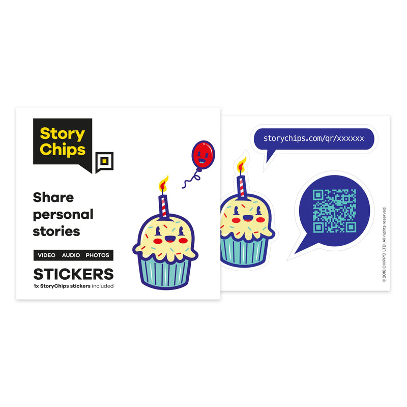 Birthday Single Sticker