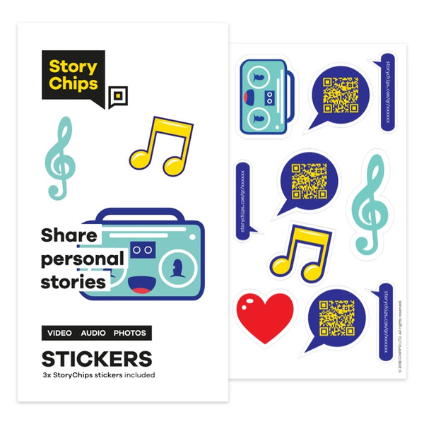 Boombox Stickers