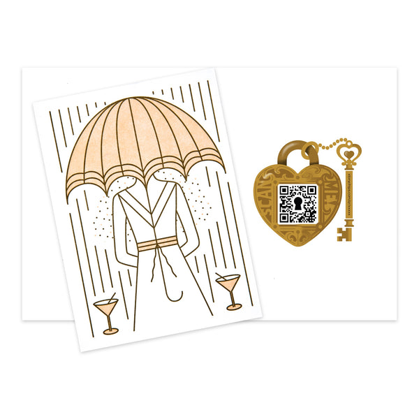 Bridal Umbrella Card