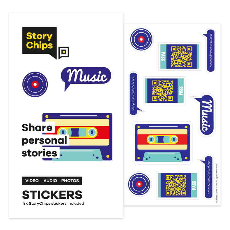 Cassette Stickers