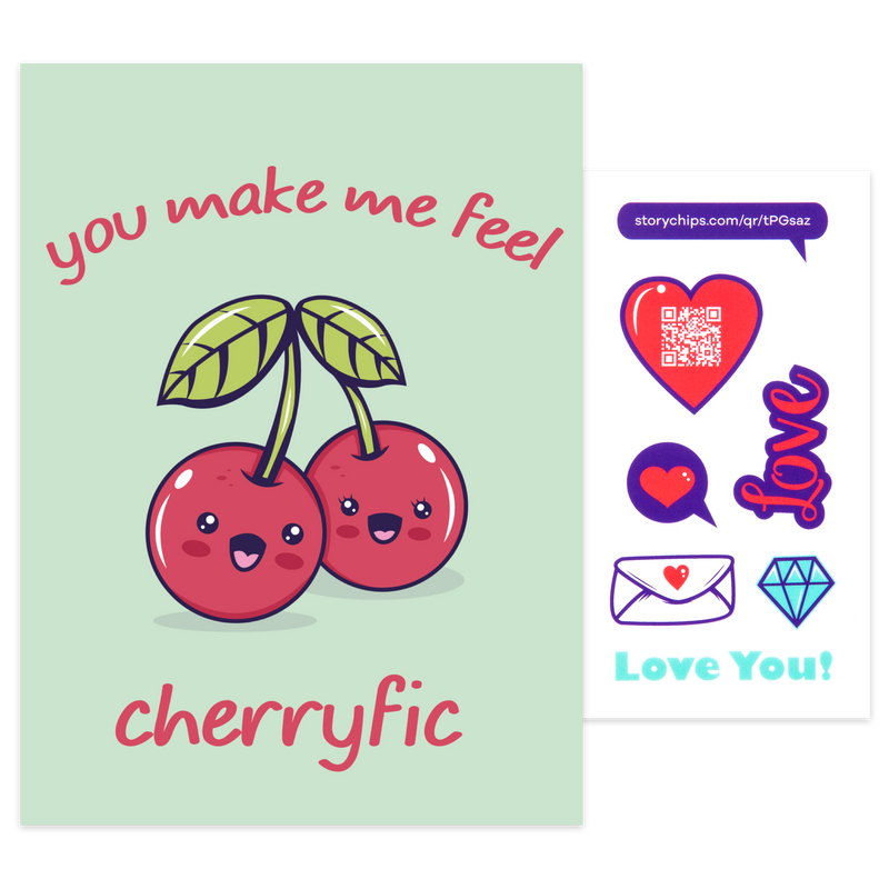Make Me Feel Cherryfic Card