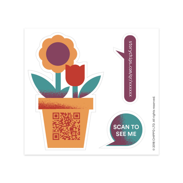 Flower Bouquet Single Sticker