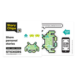 Retro Game Single Sticker