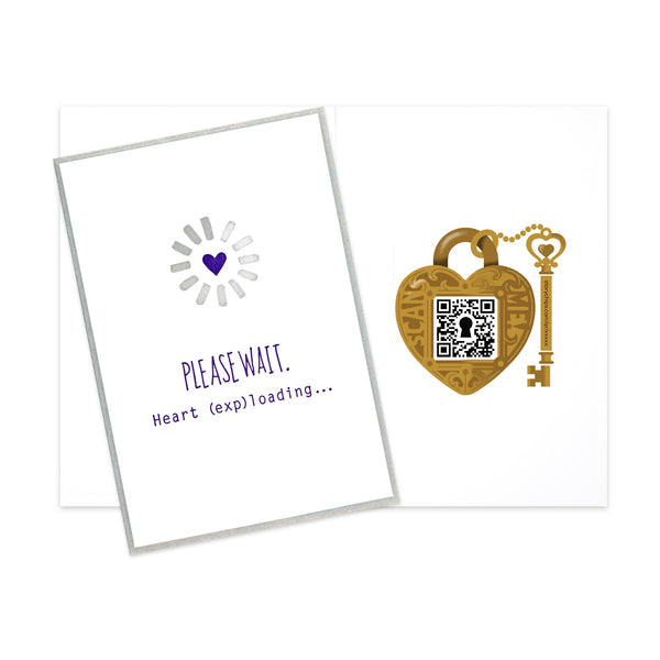Heart (Exp)loading Card