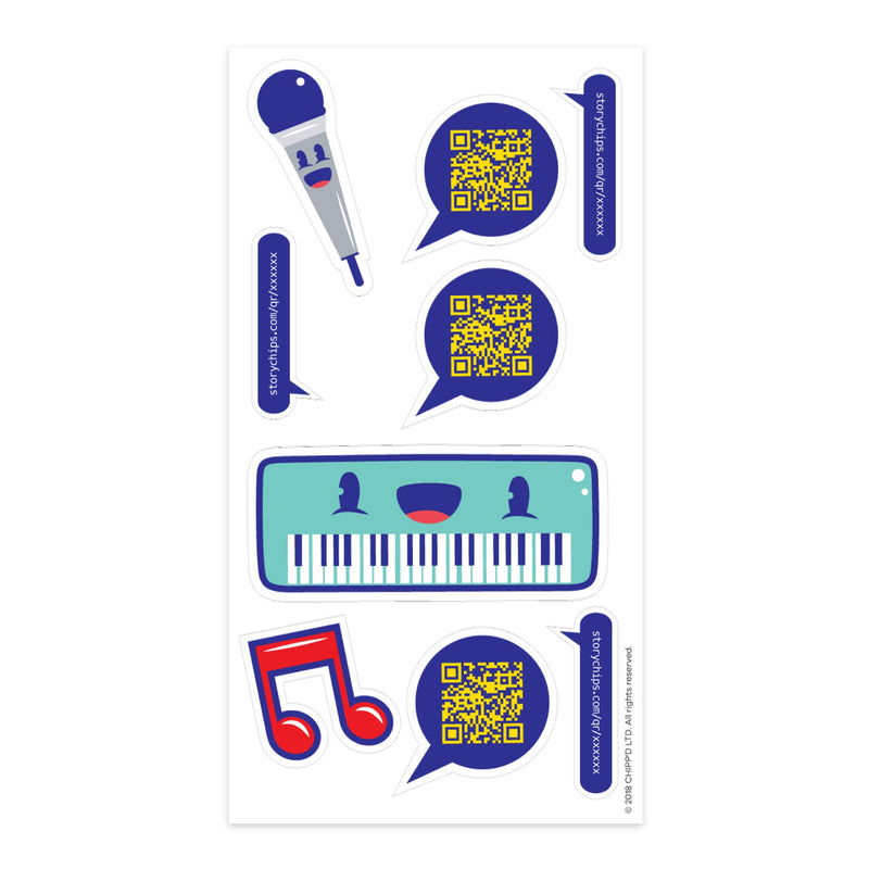 Keyboard Stickers