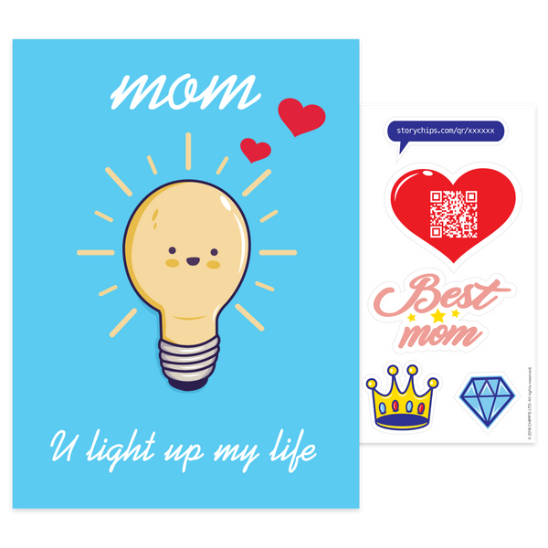 Light Bulb Card