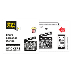 Movie Clapperboard Single Sticker
