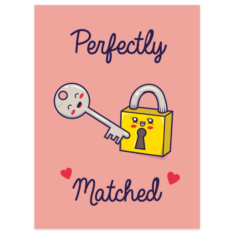 Perfectly Matched Card