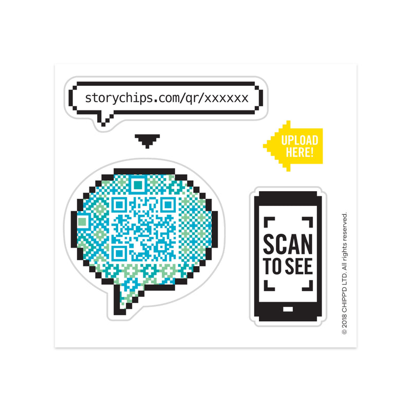 Speech Bubble Single Sticker