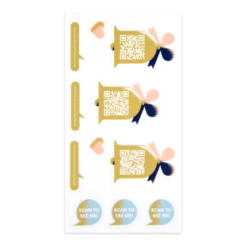 Wedding Bells Stickers