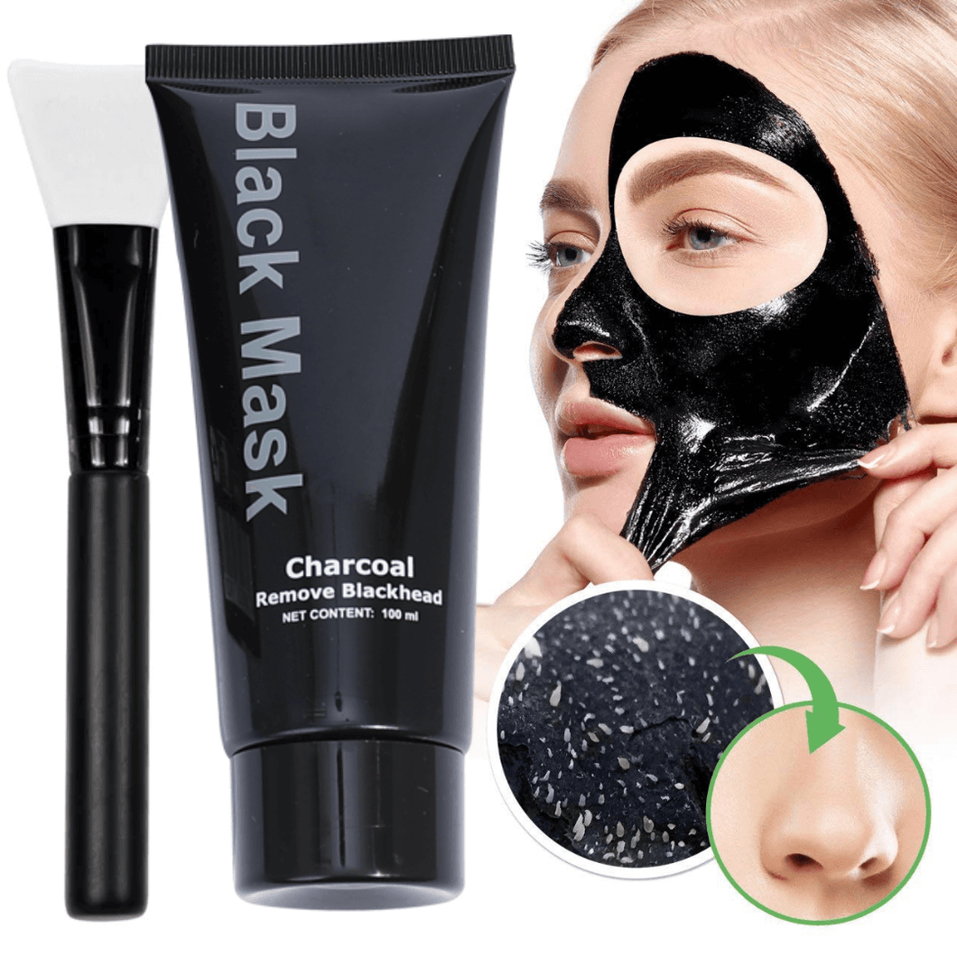 Black Mask Peel-Off Anti Mitesser Maske