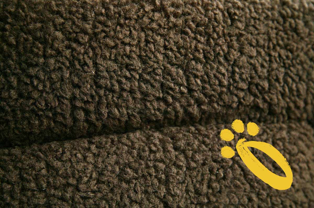 P&L Brown Fleece Dog Bed