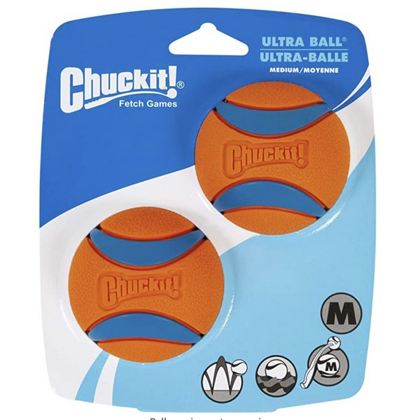Chuck-it Ultra Ball - Medium, Dog Supplies by Dogs Dogs Dogs