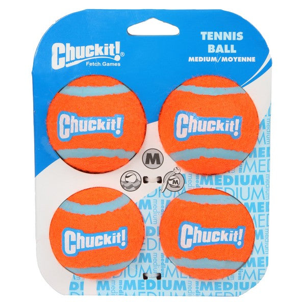 Chuckit Tennis Balls - Four Pack