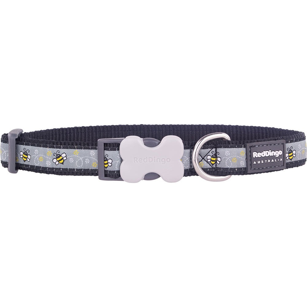 Red Dingo Bumble Bee Collar, Pet Collars & Harnesses by Dogs Dogs Dogs
