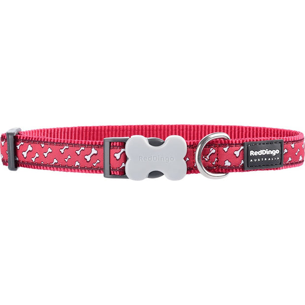 Red Dingo Flying Bones Collar