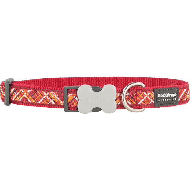 Red Dingo Flanno Collar
