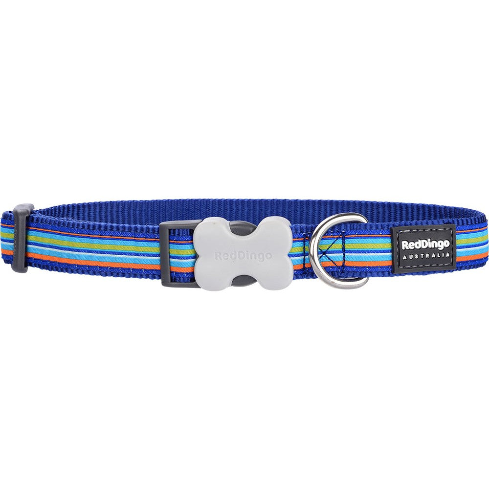 Red Dingo Striped Collar, Animals & Pet Supplies by Dogs Dogs Dogs