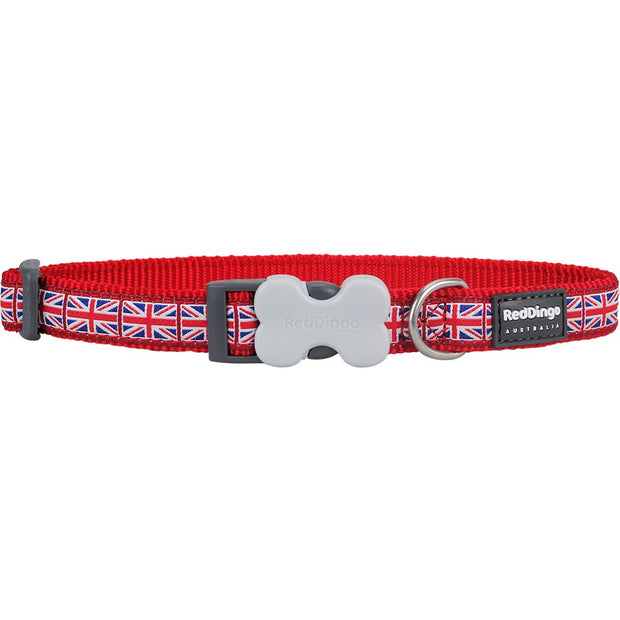 Red Dingo Union Jack Collar