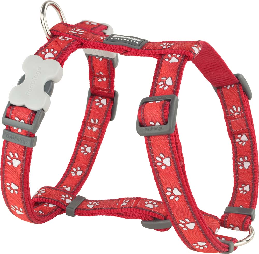 Red Dingo Desert Paw Harness, Pet Collars & Harnesses by Dogs Dogs Dogs